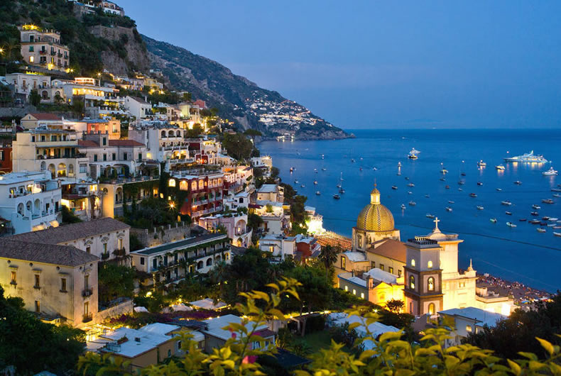 Enjoy A Positano Tour In A Hire And Ride Service